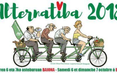 Véloparade pour l'arrivée du Tour Alternatiba – 6 octobre (Samedi) – 15h