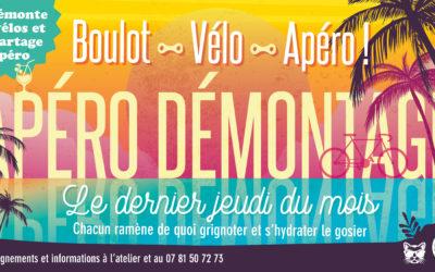 Apéro-démontage Vendéen – 29/08 – 18h