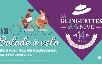 Les Guinguettes de la Nive : Samedi 14/09 à 15h30